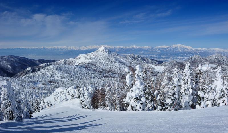 冬の横手山