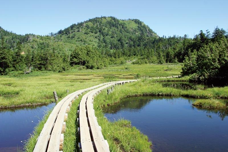 四十八池と志賀山
