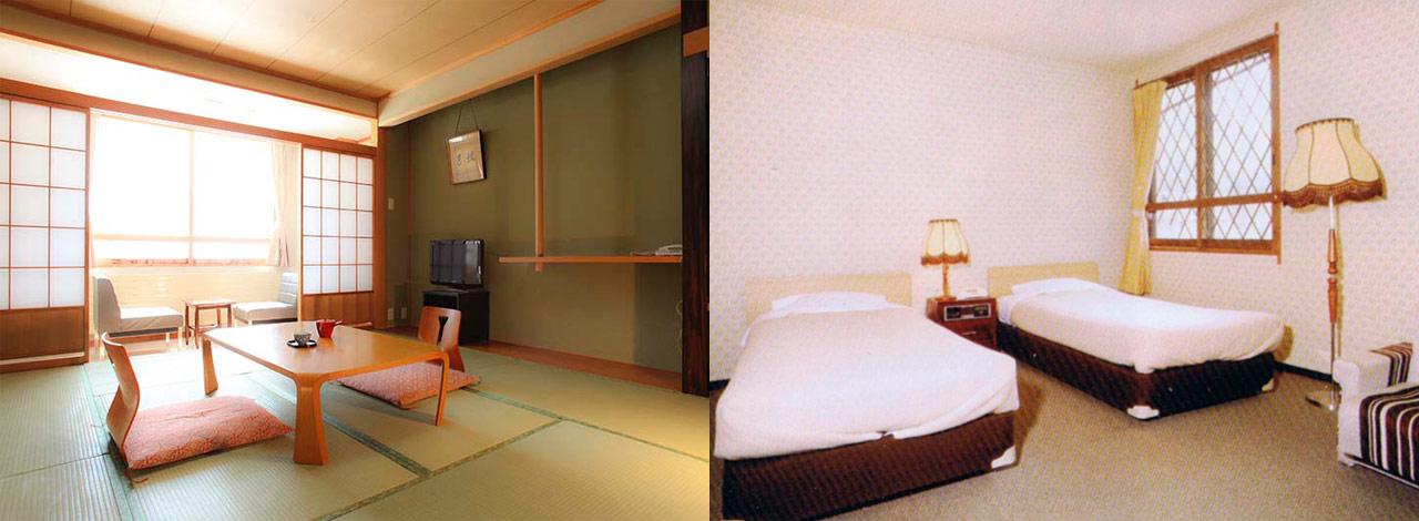 硯川ホテル 客室